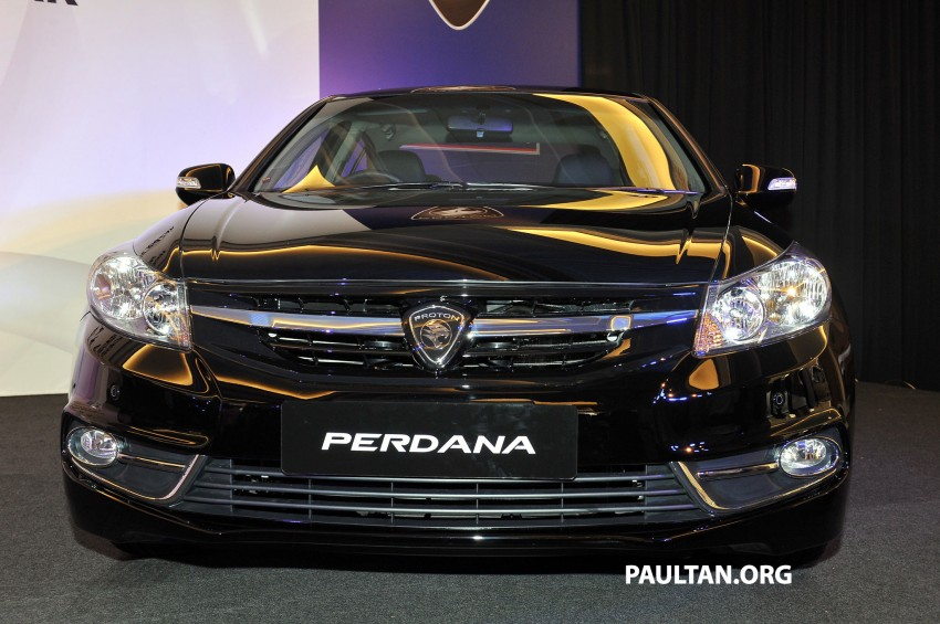 New Proton Perdana based on eighth-gen Honda Accord handed over – PM gets a stretched version! Image #216909