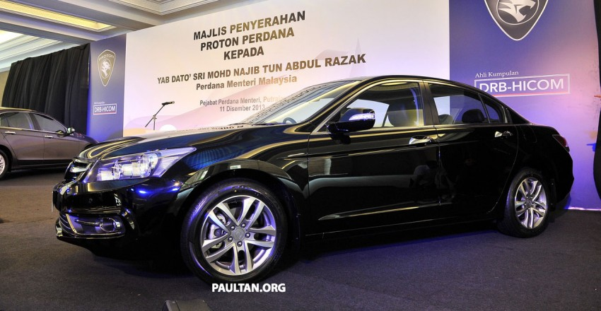 New Proton Perdana based on eighth-gen Honda Accord handed over – PM gets a stretched version! Image #216911