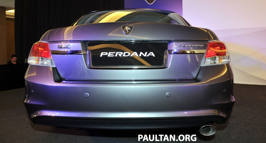 New Proton Perdana based on eighth-gen Honda Accord handed over – PM gets a stretched version! Image #216913