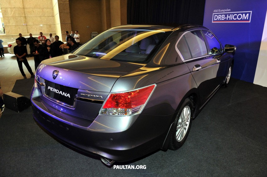 New Proton Perdana based on eighth-gen Honda Accord handed over – PM gets a stretched version! Image #216915