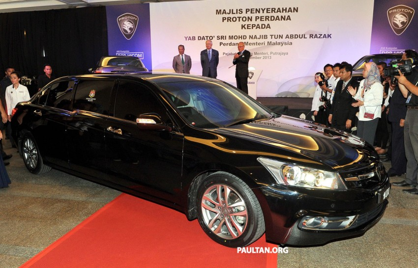 New Proton Perdana based on eighth-gen Honda Accord handed over – PM gets a stretched version! Image #216918