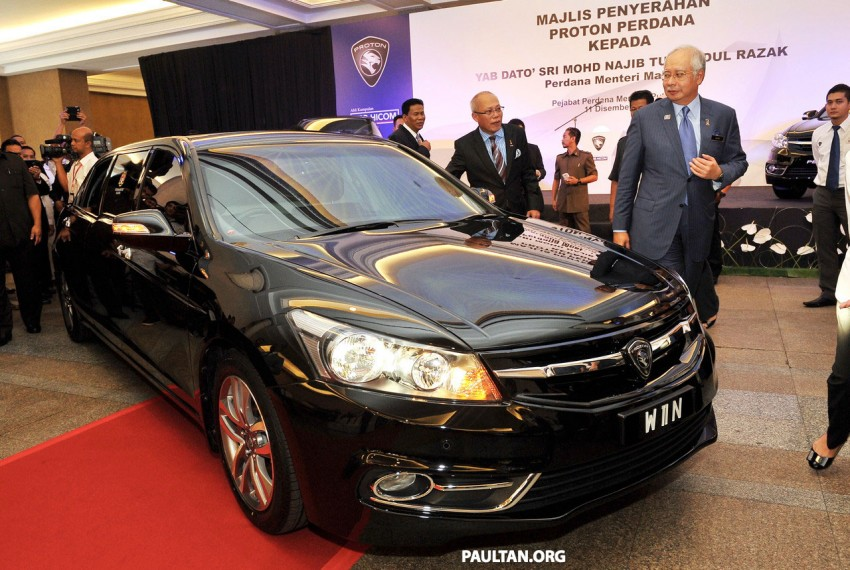 New Proton Perdana based on eighth-gen Honda Accord handed over – PM gets a stretched version! Image #216919