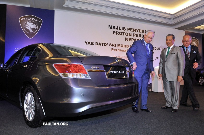 New Proton Perdana based on eighth-gen Honda Accord handed over – PM gets a stretched version! Image #216920