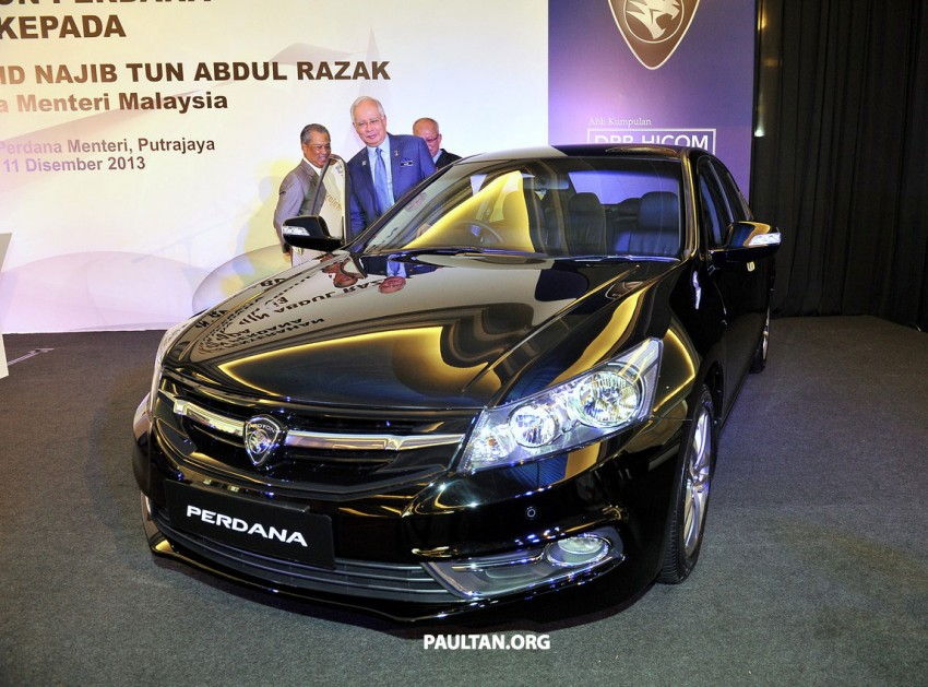 New Proton Perdana based on eighth-gen Honda Accord handed over – PM gets a stretched version! Image #216921