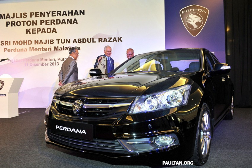 New Proton Perdana based on eighth-gen Honda Accord handed over – PM gets a stretched version! Image #216922