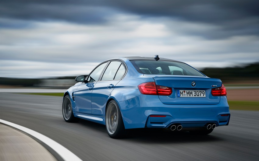 BMW M3 Sedan and M4 Coupe – full official details Image #216936