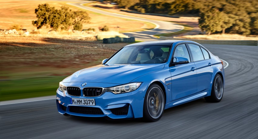 BMW M3 Sedan and M4 Coupe – full official details Image #216941