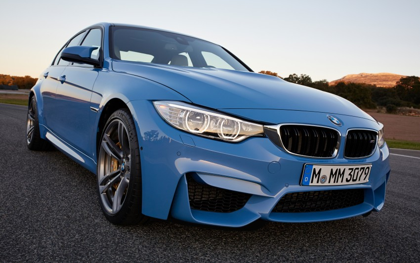 BMW M3 Sedan and M4 Coupe – full official details Image #216940