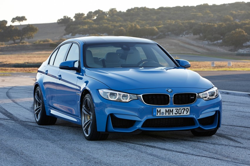 BMW M3 Sedan and M4 Coupe – full official details Image #216943