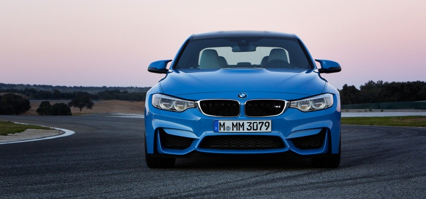 BMW M3 Sedan and M4 Coupe – full official details Image #216942