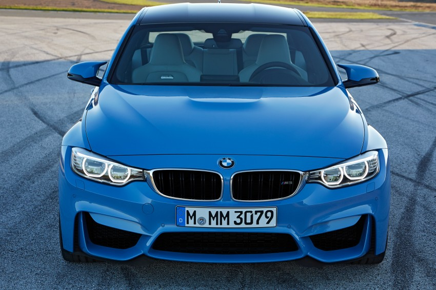 BMW M3 Sedan and M4 Coupe – full official details Image #216944