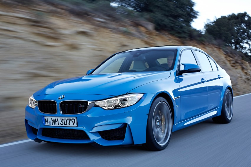 BMW M3 Sedan and M4 Coupe – full official details Image #216945