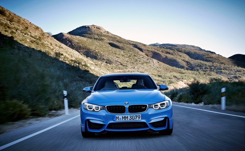 BMW M3 Sedan and M4 Coupe – full official details Image #216937