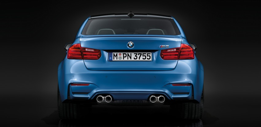 BMW M3 Sedan and M4 Coupe – full official details Image #216933