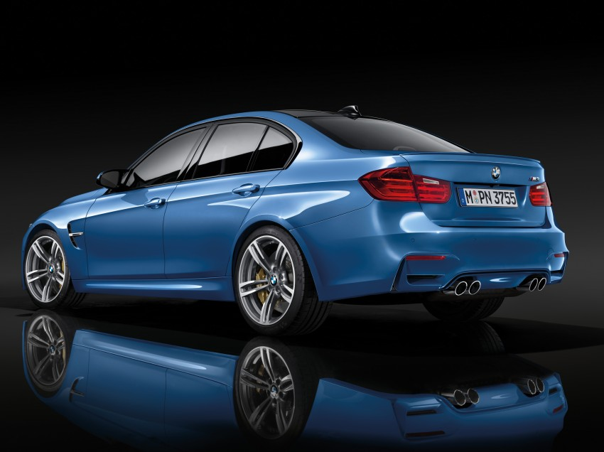 BMW M3 Sedan and M4 Coupe – full official details Image #216948
