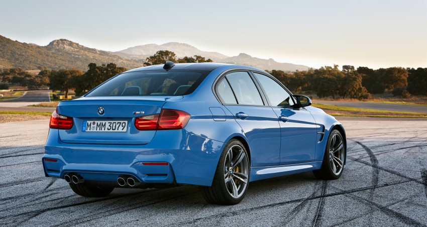 BMW M3 Sedan and M4 Coupe – full official details Image #216938