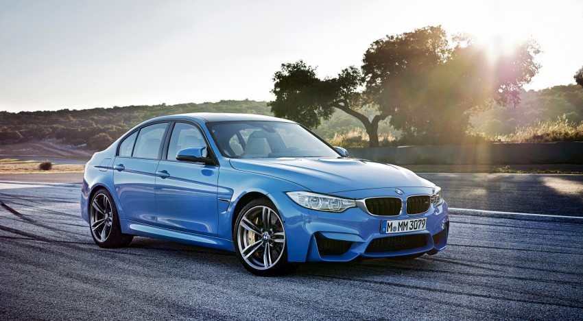 BMW M3 Sedan and M4 Coupe – full official details Image #216939
