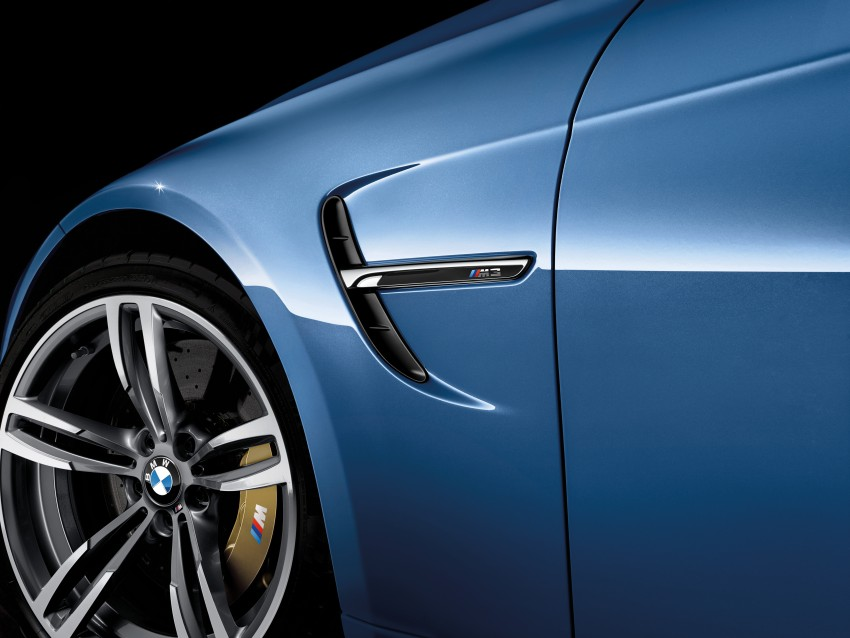 BMW M3 Sedan and M4 Coupe – full official details Image #216949