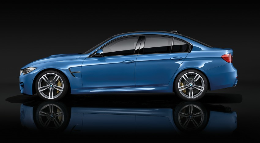 BMW M3 Sedan and M4 Coupe – full official details Image #216935