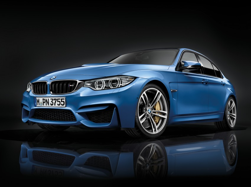 BMW M3 Sedan and M4 Coupe – full official details Image #216950
