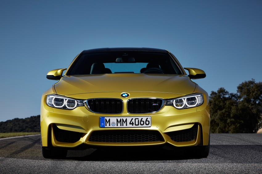BMW M3 Sedan and M4 Coupe – full official details Image #216951