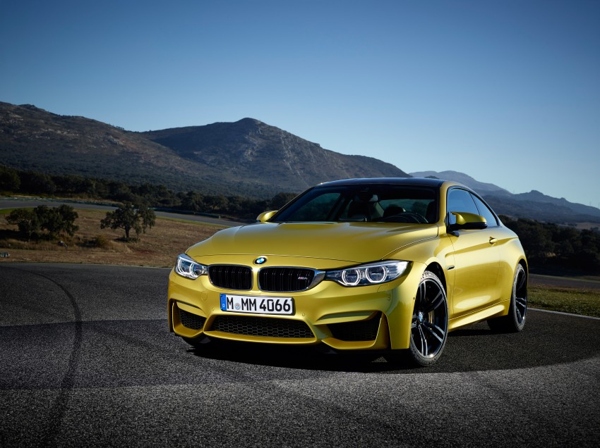 BMW M3 Sedan and M4 Coupe – full official details Image #216952