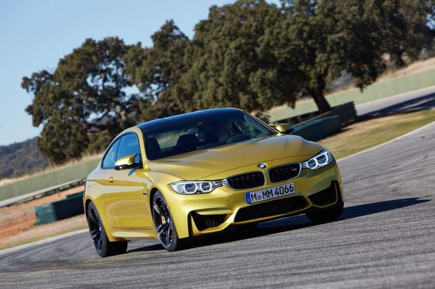 BMW M3 Sedan and M4 Coupe – full official details Image #216954