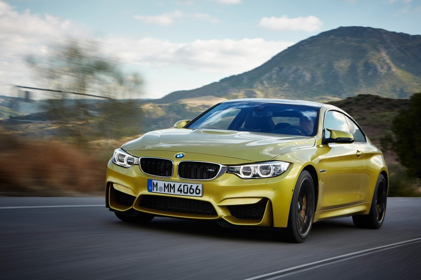 BMW M3 Sedan and M4 Coupe – full official details Image #216956
