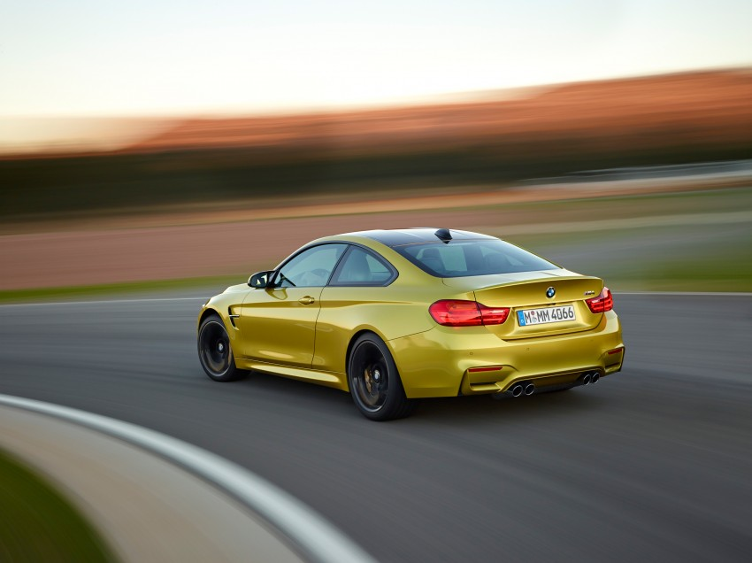 BMW M3 Sedan and M4 Coupe – full official details Image #216957