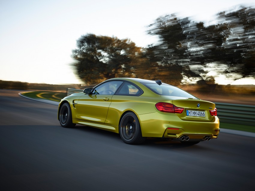 BMW M3 Sedan and M4 Coupe – full official details Image #216958