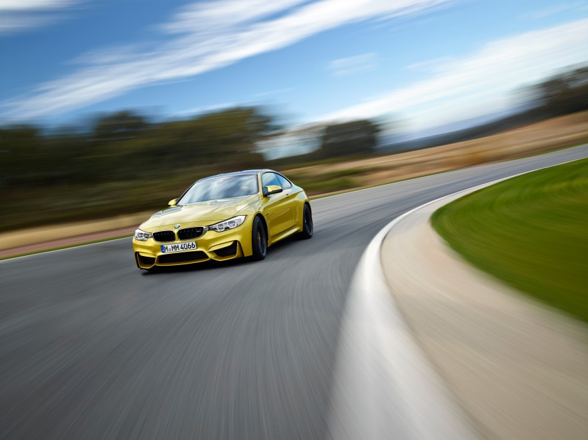 BMW M3 Sedan and M4 Coupe – full official details Image #216959