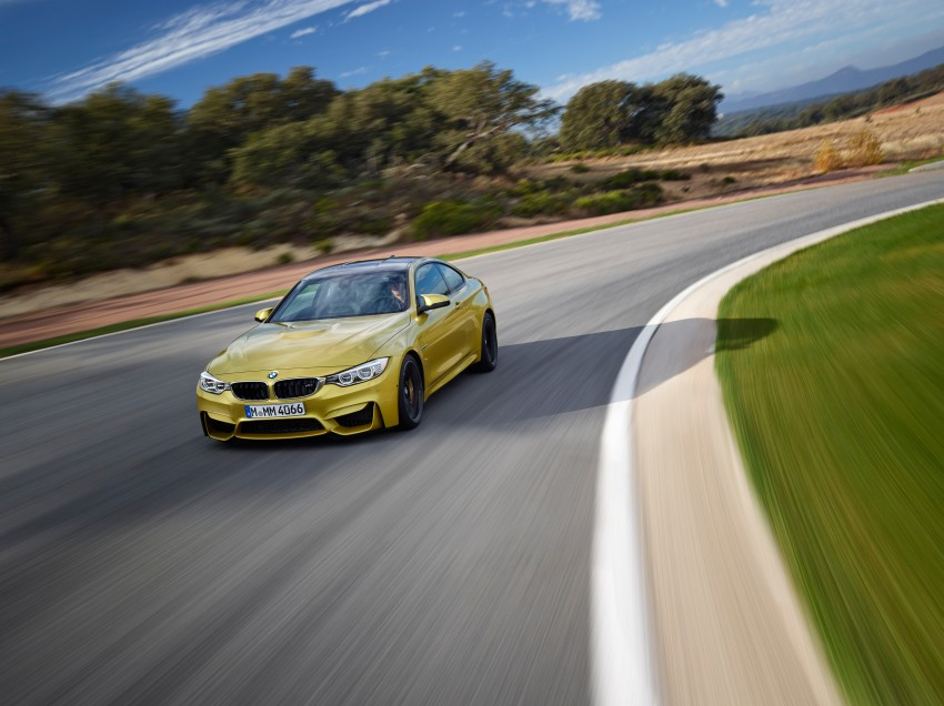 BMW M3 Sedan and M4 Coupe – full official details Image #216961