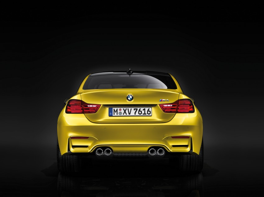 BMW M3 Sedan and M4 Coupe – full official details Image #216966