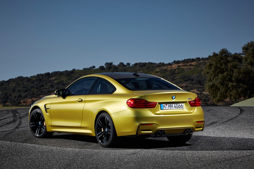 BMW M3 Sedan and M4 Coupe – full official details Image #216968