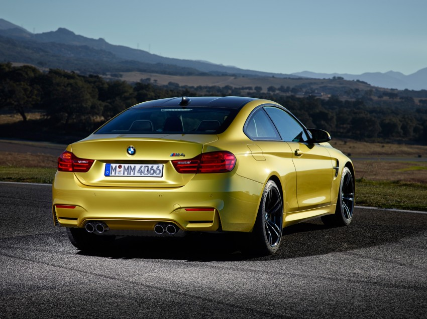BMW M3 Sedan and M4 Coupe – full official details Image #216969