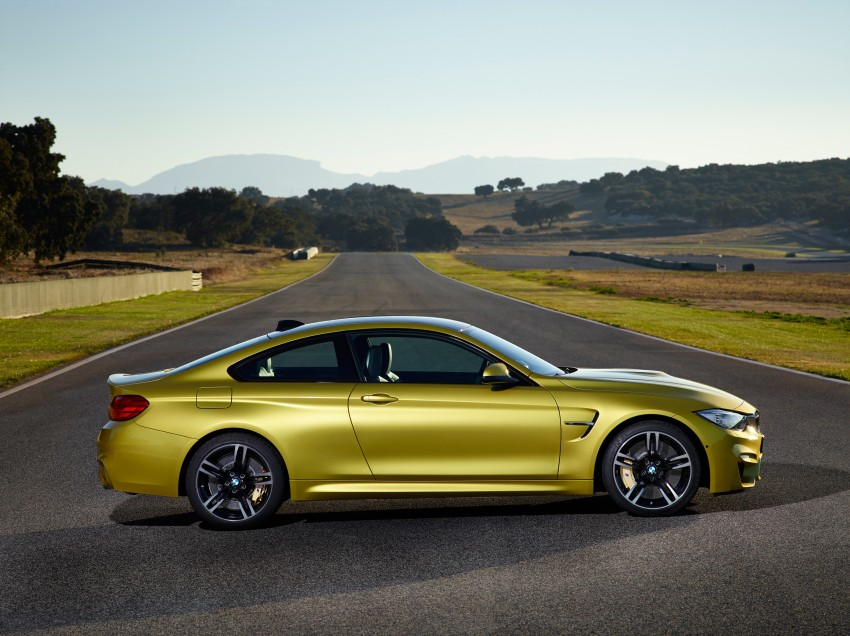 BMW M3 Sedan and M4 Coupe – full official details Image #216970