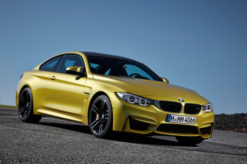 BMW M3 Sedan and M4 Coupe – full official details Image #216972