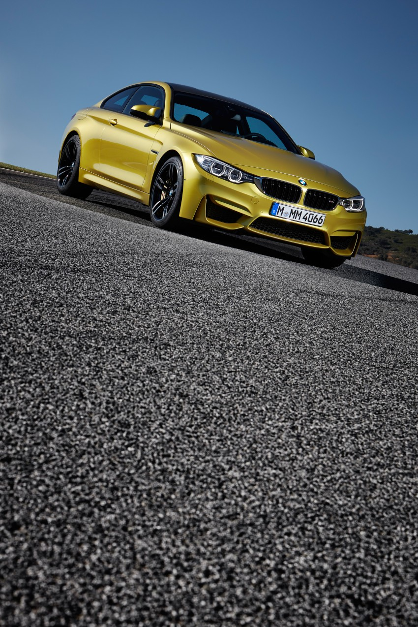 BMW M3 Sedan and M4 Coupe – full official details Image #216973