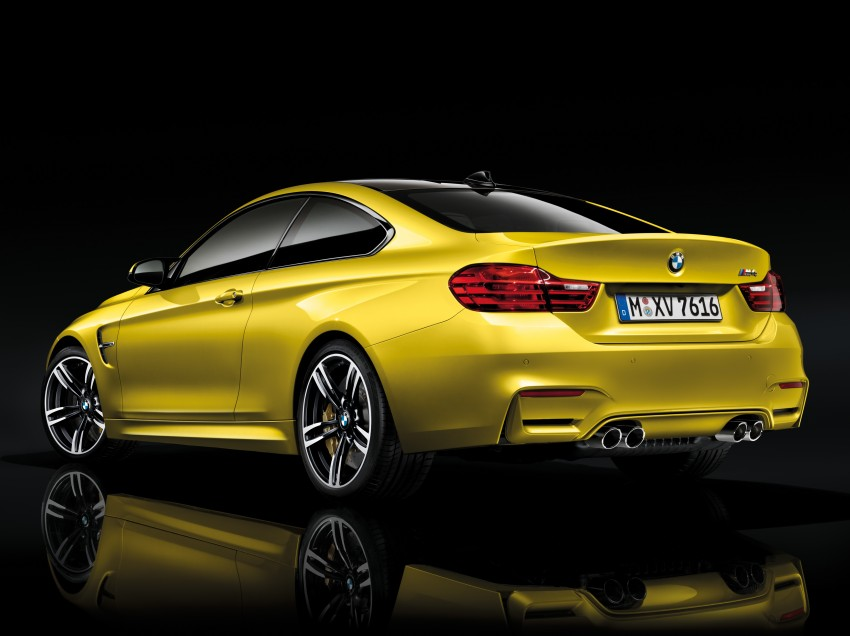 BMW M3 Sedan and M4 Coupe – full official details Image #216977
