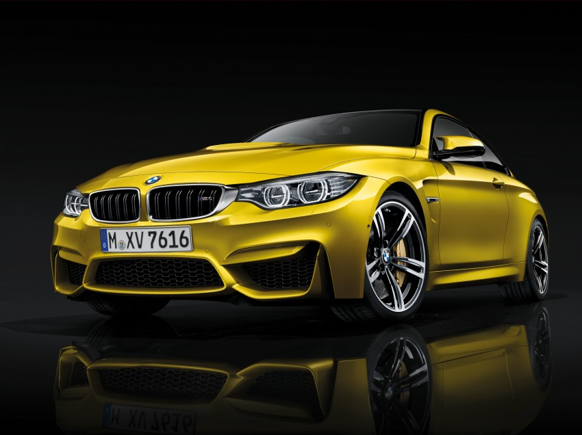 BMW M3 Sedan and M4 Coupe – full official details Image #216978