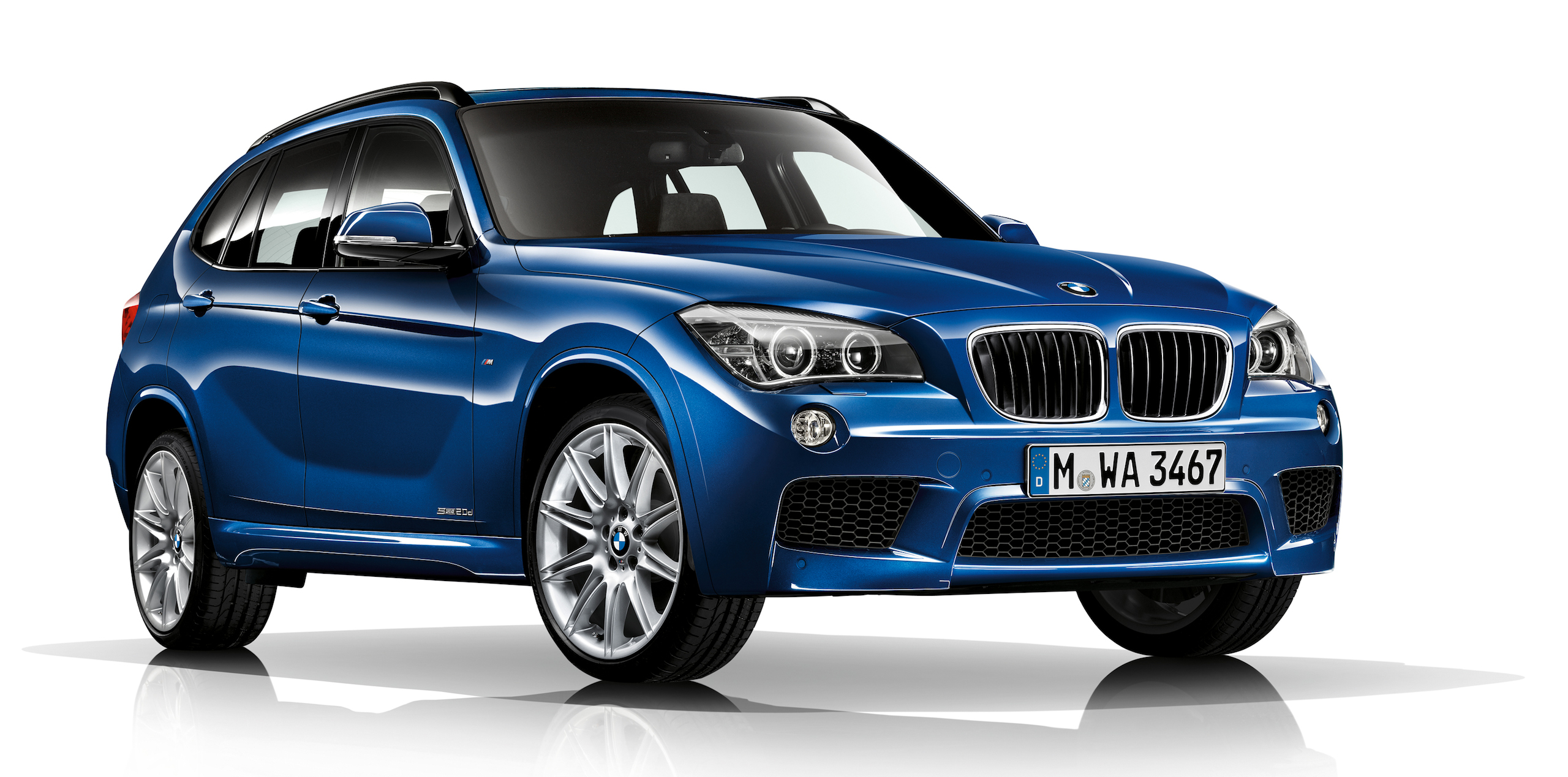 bmw x1 compact suv gets a minor refresh for 2014 image 217493. Black Bedroom Furniture Sets. Home Design Ideas