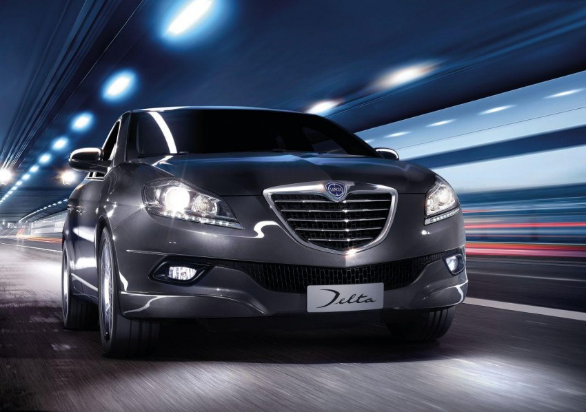 2014 Lancia Delta unveiled – new trim for the new year Image #219385
