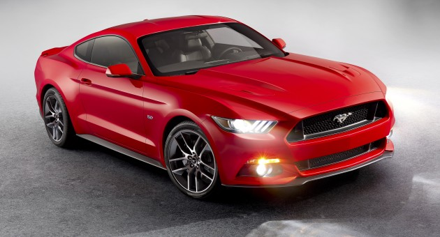 sixth generation ford mustang first details on 2 3l ecoboost inline 4 and 5 0l v8 engines. Black Bedroom Furniture Sets. Home Design Ideas