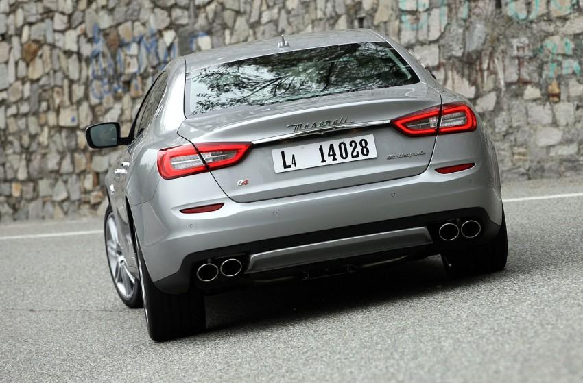 DRIVEN: New Maserati Quattroporte V6 tested in Italy Image #216067