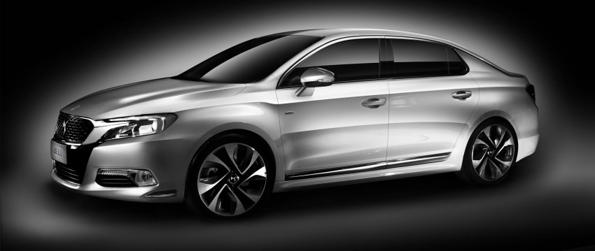Citroen DS 5LS unveiled for the Chinese market Image #218355