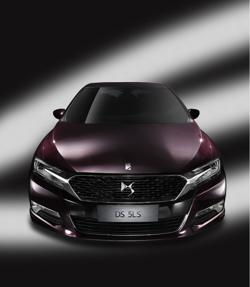 Citroen DS 5LS unveiled for the Chinese market Image #218354