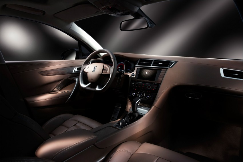 Citroen DS 5LS unveiled for the Chinese market Image #218352