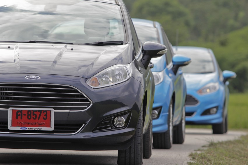 DRIVEN: 2014 Ford Fiesta 1.0 EcoBoost in Chiang Mai Image #216599