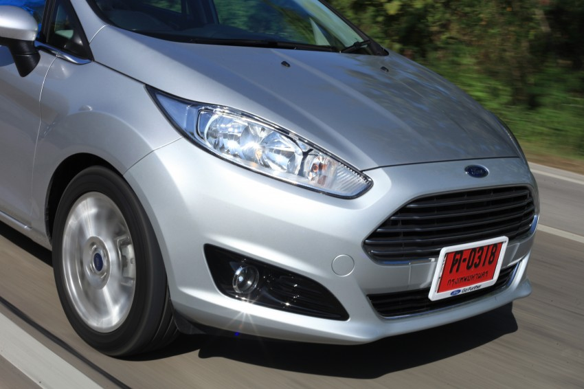 DRIVEN: 2014 Ford Fiesta 1.0 EcoBoost in Chiang Mai Image #216582