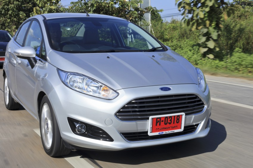 DRIVEN: 2014 Ford Fiesta 1.0 EcoBoost in Chiang Mai Image #216581